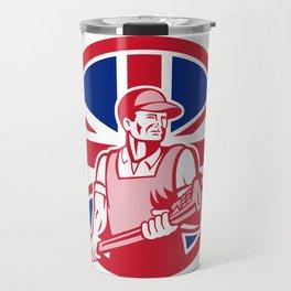 British Plumber and Gasfitter Union Jack Icon Travel Mug