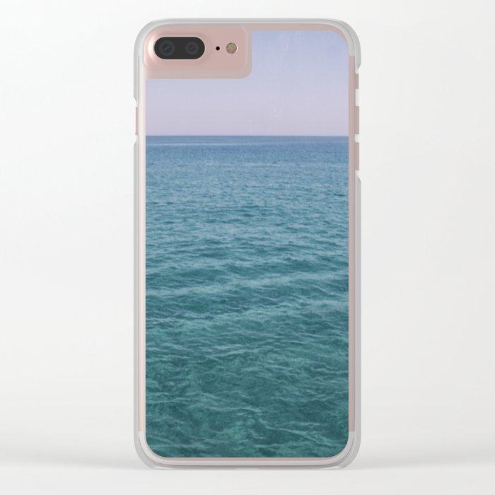 Sea and sky Clear iPhone Case