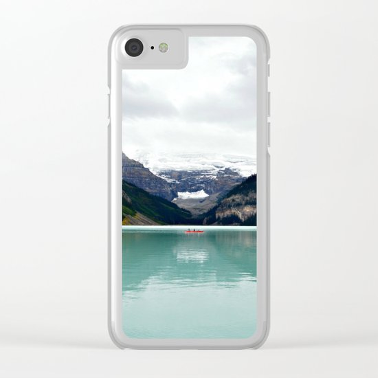 Lake Louise #mountains Clear iPhone Case