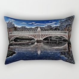 Eglington Bridge Rectangular Pillow