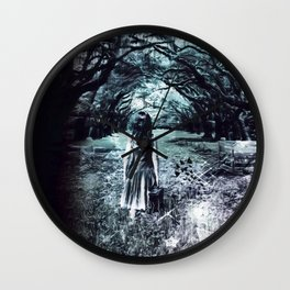 A scary unknown by GEN Z Wall Clock