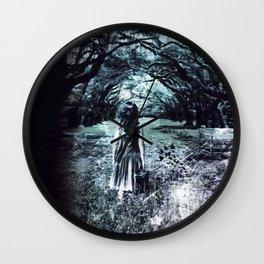 A scary unknown by GEN Z Wall Clock