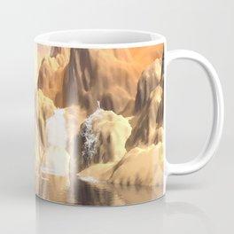 Mystical moon landscape Coffee Mug