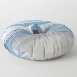 Merewether baths pumphouse Floor Pillow