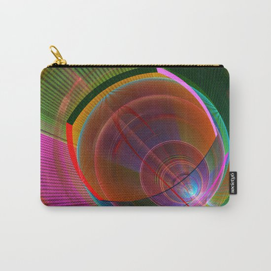 Colourful geometric abstract Carry-All Pouch
