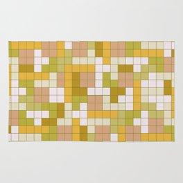 Tetris Camouflage Desert Rug