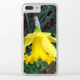 Raindrops Keep Falling on My Head Clear iPhone Case