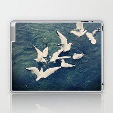 race of the plunge Laptop & iPad Skin