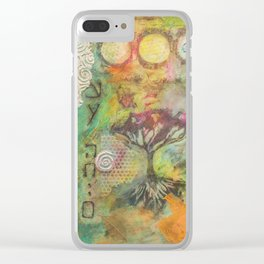 The Tree Of All Lives Clear iPhone Case