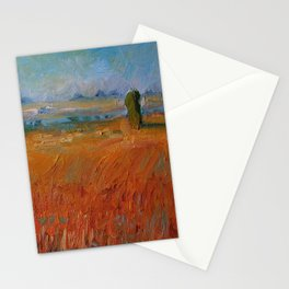Warm Waves Stationery Cards