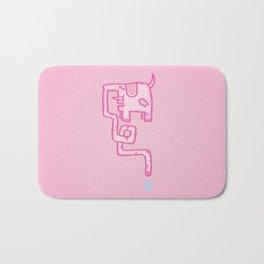Pink Patch Bath Mat