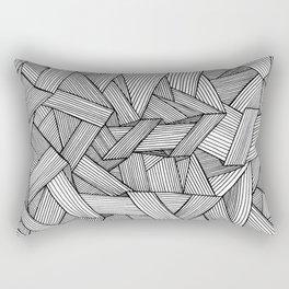 Straight Lines Rectangular Pillow