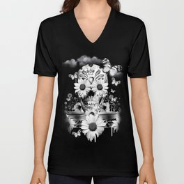 Dreaming of daisies Unisex V-Neck