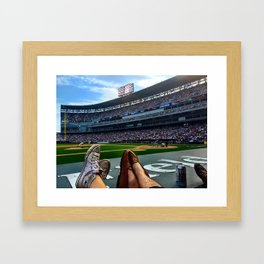 Crosstown Classic at US Cellular Framed Art Print