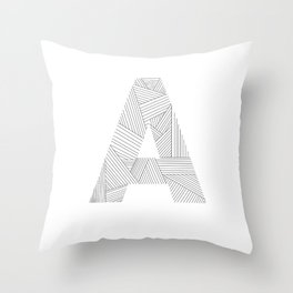 A strings Throw Pillow