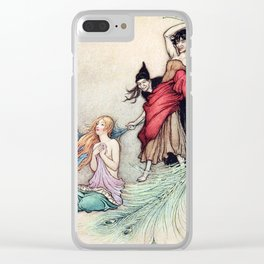 Bundle Feathers Clear iPhone Case