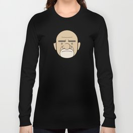 Faces of Breaking Bad: Mike Ehrmantraut Long Sleeve T-shirt