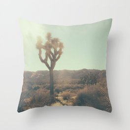 Seeing the world as children Throw Pillow