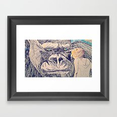 Kong for the Mikes Framed Art Print