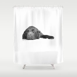 Lazy Sunday Shower Curtain