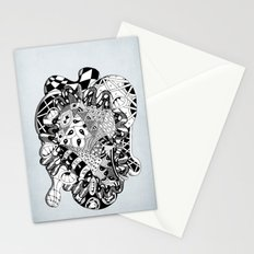 The heart of things Stationery Cards