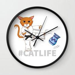 #Catlife Wall Clock