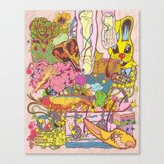 Easter Grissle Canvas Print