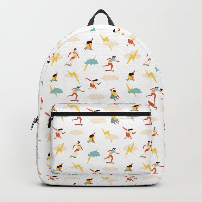 You go, girl pattern! Backpack
