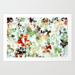 Linger: Abstract watercolor painting Art Print