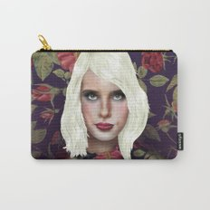 Young Girl and Flowers (Emma Roberts) Carry-All Pouch