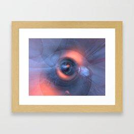 Cosmic origin Framed Art Print