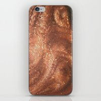 copper iPhone & iPod Skins featuring Copper by Ellie Rose Flynn