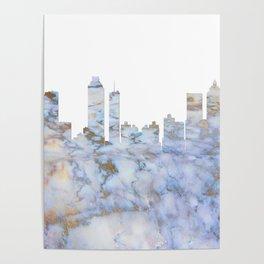 Atlanta Skyline Georgia Poster