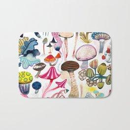 Mushroom Collection - b r i g h t s Bath Mat