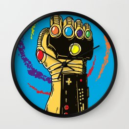 Infinity Power Wall Clock