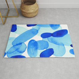 Beach Glass Blue Rug