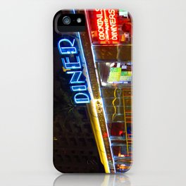 Diner Love iPhone Case
