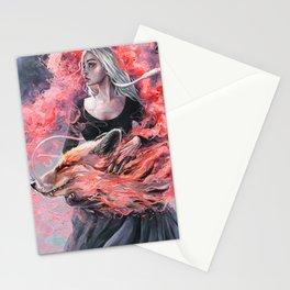 DragonFox Stationery Cards