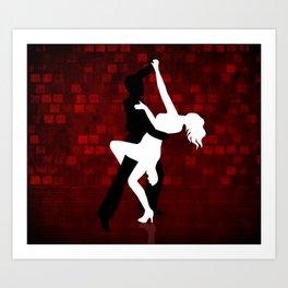 Tango Series 3 Art Print