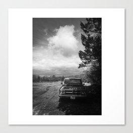 Keep Trucking Canvas Print