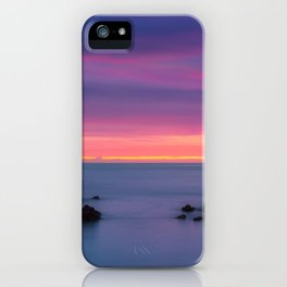 Baily Lighthouse in Purple - Ireland (RR194) iPhone Case
