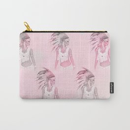 Native girl Carry-All Pouch