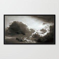Storm Crow Canvas Print