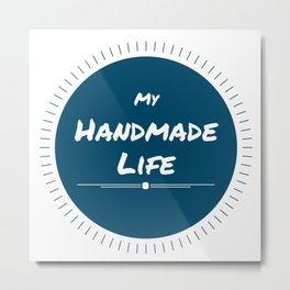 My Handmade Life - Sun Metal Print