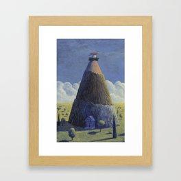 The Hatching Framed Art Print