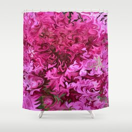 Pink Wave Shower Curtain