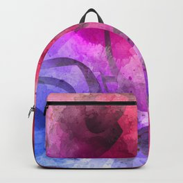 Arabic Calligraphy Art Painting Backpack