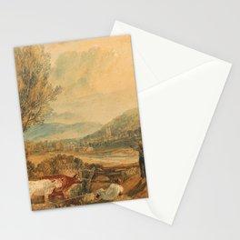 Lulworth Castle, Dorset (1820) by J.M.W. Turner Stationery Cards