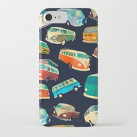 volkswagon iPhone & iPod Cases featuring Kombi Heaven by Buster Fidez