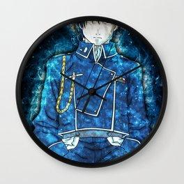 Fullmetal Alchemist Roy Mustang Wall Clock